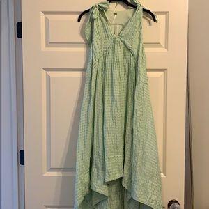 Mint Green Free People Maxi dress